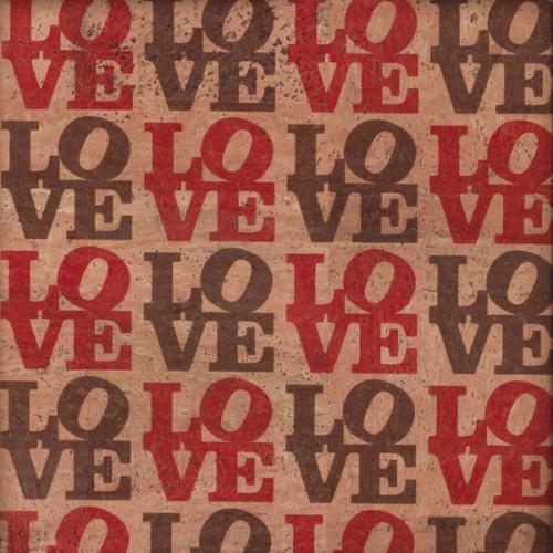 Tela de Cortiça - Love I