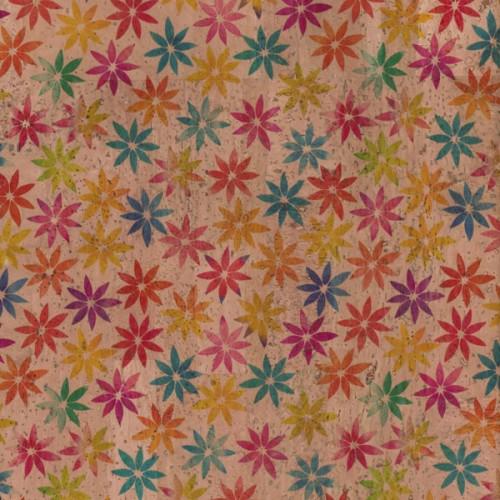 Tela de Cortiça - Flores I