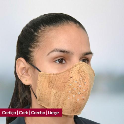 Máscara Reutilizável em Cortiça