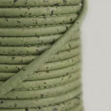 Fio de Cortiça 4mm - Verde