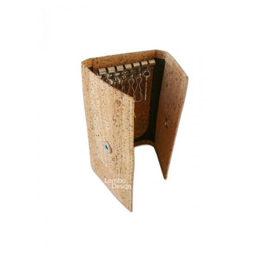 Carteira Porta-Chaves em Cortiça