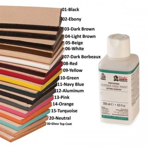 Professional Leather Edge Paints