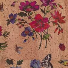 Tela de Cortiça - Floral