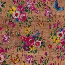 Tela de Cortiça - Flores
