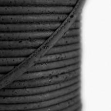 Fio de Cortiça 4mm - Preto